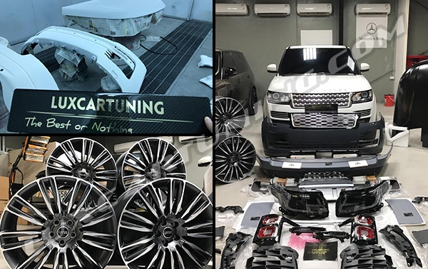 Facelift 2019my body kit for Range Rover Vogue  L405 2013-17 models: