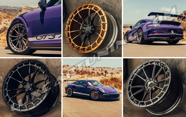 Fantastic SRX01 forged wheels by AGWheels: the color and size depends of your choose, also you can order for your favorite cars models.
