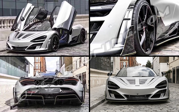 FIRST EDITION MANSORY full forged carbon body kit for Mclaren 720s: