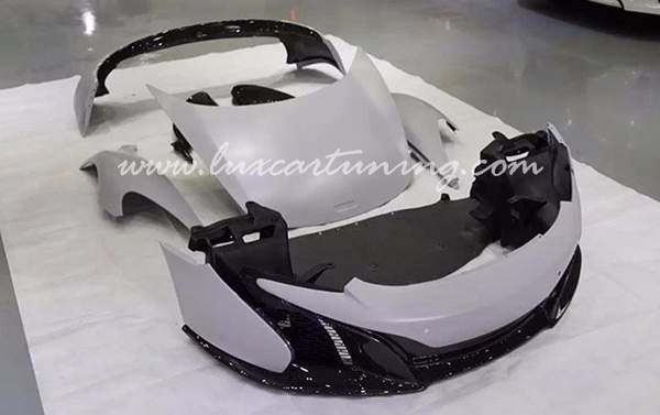 Full body kit to convert Your McLaren MP4 to McLaren 650s