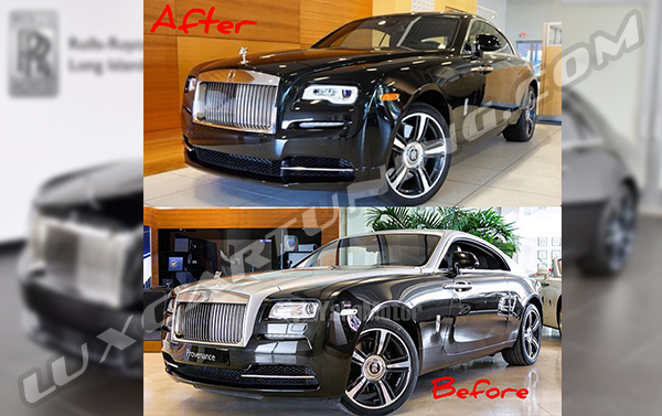 Full facelift package for Rolls Royce Wraith available for order: