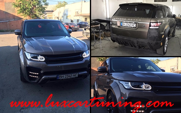 Full wide body kit RENEGADE for Your Range Rover Sport L494 up to 2013 model: