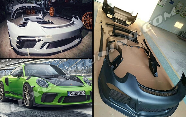 GT3 RS full body kit for your Porsche 911 and 991: