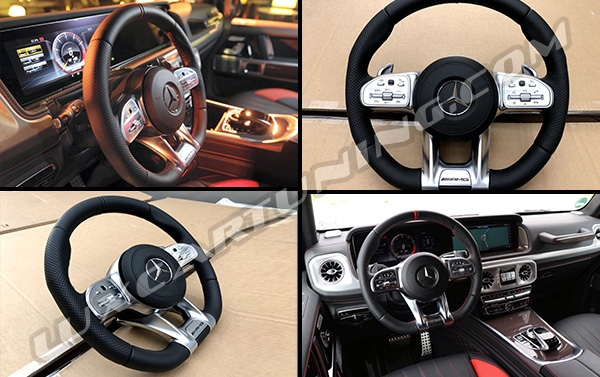 In stock|S63 facelift steering wheel for Mercedes Benz S class W222, S coupe C217.