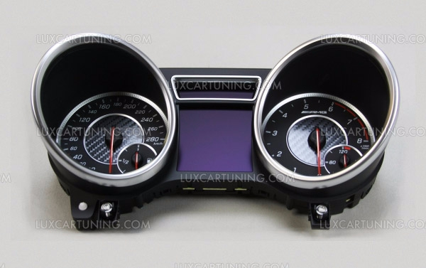 Instrumental panel 463 EDITION with carbon trims for Mercedes Benz G class W463 up to 2013 models