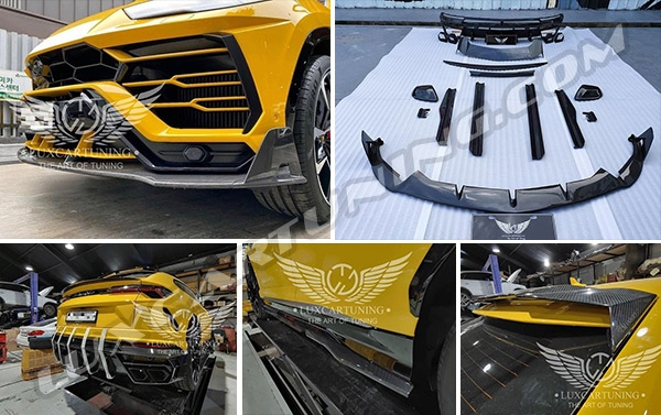 M style soft body kit in dry carbon for Lamborghini Urus available in stock