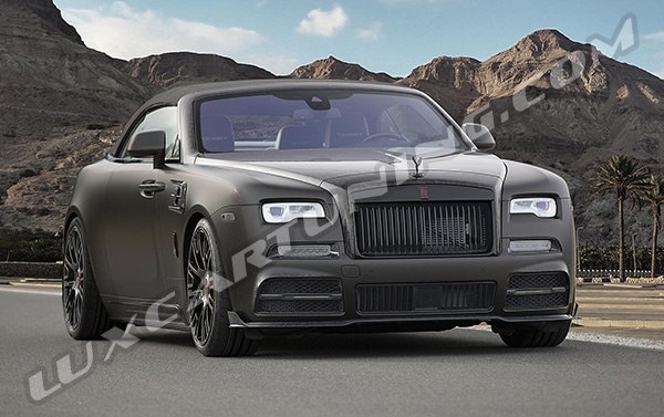 Mansory body kit for Rolls Royce Dawn: