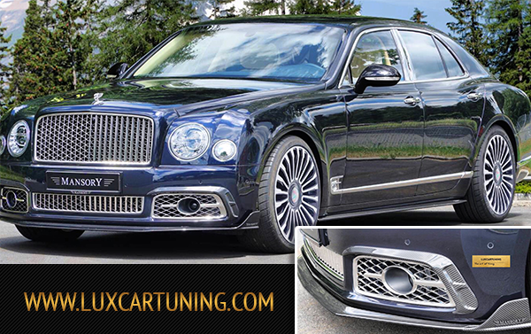 Mansory visible carbon air body kit for Your Bentley Mulsanne: