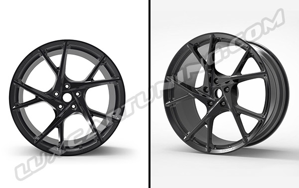 Mansory Yavin 24 inch full forged exclusive wheels for Lamborghini Urus.