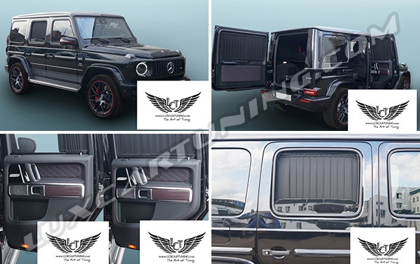 Mercedes Benz G class W463A up to 2018 model