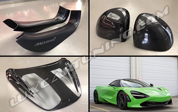 MSO dry carbon exterior full kit for McLaren 720s available for order: