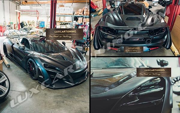 Novitec N Largo aerodinamic body kit for McLaren 720s: