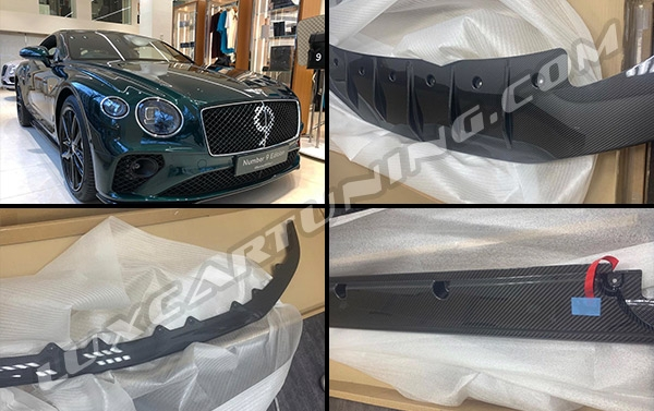Number 9 Edition carbon body kit for Bentley GT V8: