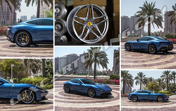 OEM style ROMA wheels for all models of Ferrari available in stock