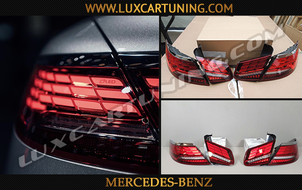 OLED facelift taillights for Your Mercedes Benz S coupe C217