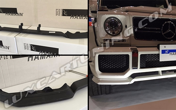 Original Hamann front lip-spoiler for Your Mercedes Benz G class W463