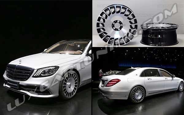 Original Maybach 2018 R20 wheels for Mercedes S class W222, Maybach S600 X222, Maybach coupe, S class coupe C217