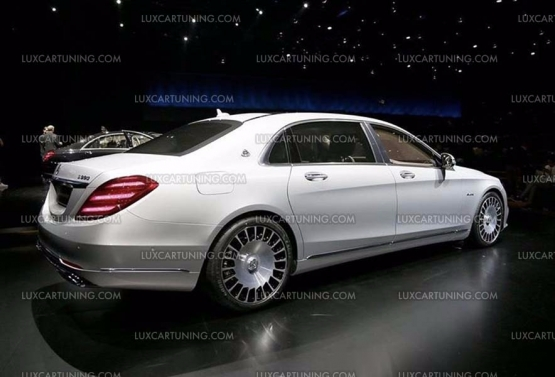 Luxcartuning Com Spare Parts And Accessories Original Maybach 2018 R20 Wheels For Mercedes S