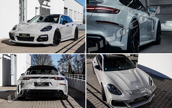 Porsche? Panamera? Only @techart_germany …. Only with Techart you can drive unique Panamera 971…
