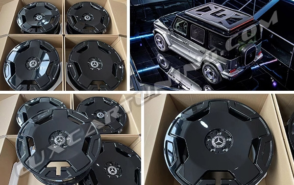 R20 and R22 2022MY wheels EQS for Mercedes Benz G class W463A