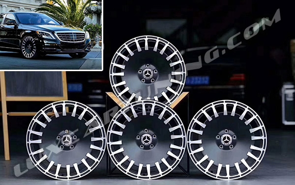 R20 Exclusive forged wheels for Maybach X222, Mercedes S class W222, S coupe C217.