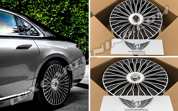 R21 2021MY Maybach forged wheels for Mercedes Benz S class W223.