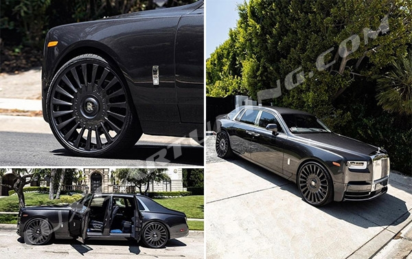 R22-R24 luxury forged wheels for Rolls Royce Phantom and Cullinan. All our wheels have correct sizes, 5 years quality warranty and free worldwide shipping.