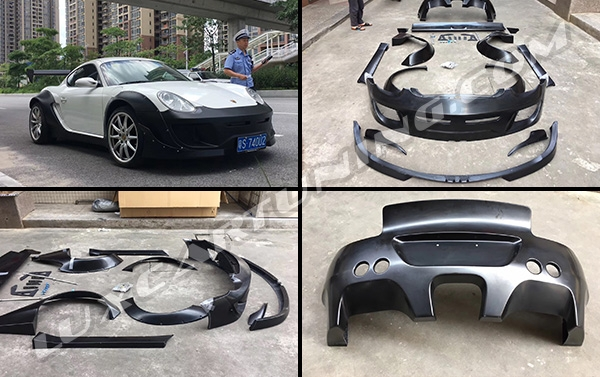 Rocket Bunny wide body kit for Porsche Cayman/Boxter 987: