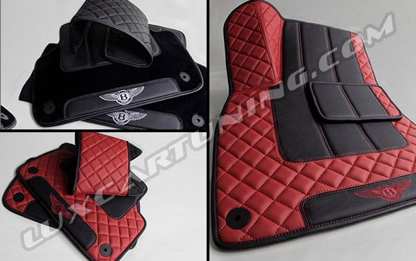 Special Edition high quality floor mats for your Bentley Bentayga: you can choose color of design depend of your interior.