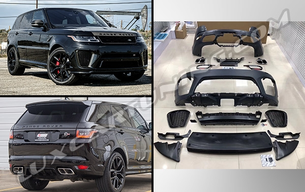 SVR body kit for Range Rover Sport L494 up to 2018 model: