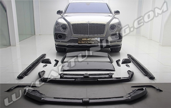 The Best Quality / The best price  Free world wide shipping | FIRST EDITION carbon body kit + side emblems for Bentley Bentayga: