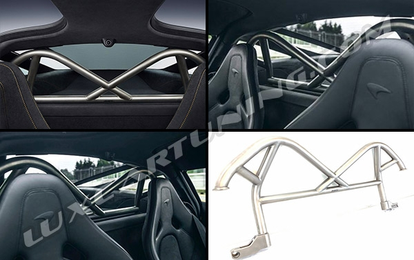 Titanium MSO Track Puck Roll Cage Package for Mclaren 720s.