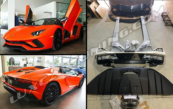 Upgrade Your Lamborghini Aventador any model to Aventador S 2018-19MY: