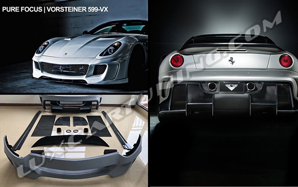 Vorsteiner full body kit for all models of Ferrari 599:
