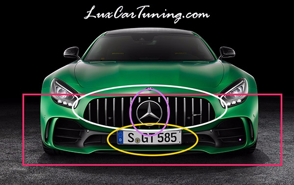 We will help You to convert Your AMG GT to GTR 2017 model: